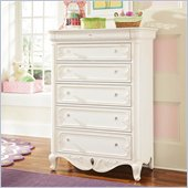 Lea Elite Vintage Boutique Drawer Chest in Vintage White