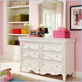 Lea Elite Vintage Boutique Drawer Dresser in Vintage White