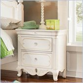 Lea Elite Vintage Boutique Drawer Nightstand in Vintage White