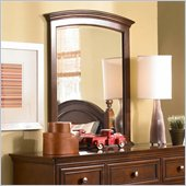 Lea Elite Covington Vertical Mirror in Cherry