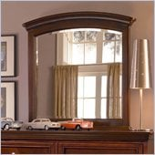 Lea Elite Covington Bureau Mirror in Cherry