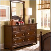 Lea Elite Covington Drawer Dresser in Cherry