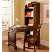Lea Elite Covington Bookcase Desk in Cherry