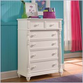Lea Elite Hannah Drawer Chest in White