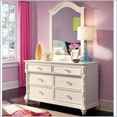 Lea Elite Hannah Drawer Dresser in White