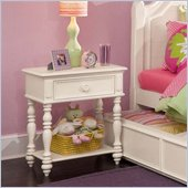 Lea Elite Hannah Nightstand in White