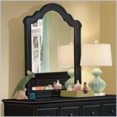 Lea Elite Retreat Vertical Mirror in Black