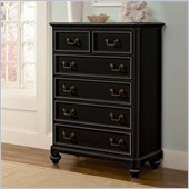 Lea Elite Retreat Drawer Chest in Black