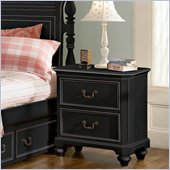 Lea Elite Retreat Nightstand in Black