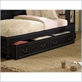 Lea Elite Retreat Dual Function Underbed Storage-Kd in Black