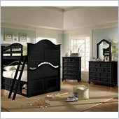 Lea Elite Retreat Bunk Bed with Storage in Black