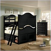 Lea Elite Retreat Bunk Bed in Black