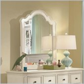 Lea Elite Retreat Vertical Mirror in Antique White