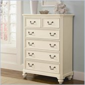 Lea Elite Retreat Drawer Chest in Antique White