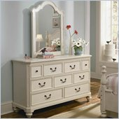 Lea Elite Retreat Drawer Dresser in Antique White
