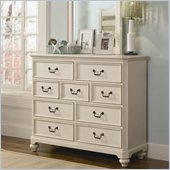 Lea Elite Retreat Bureau in Antique White