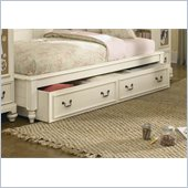 Lea Elite Retreat Dual Function Underbed Storage-KD in Antique White