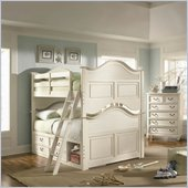 Lea Elite Retreat Bunk Bed in Antique White