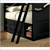 Lea Elite Retreat Captain Bed Box with Side Rail in Black