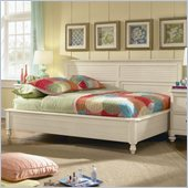 Lea Elite Retreat Sideways Bed in Antique White with Slats