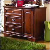 Lea Deer Run Kids 3 Drawer Single Dresser in Brown Cherry Finish