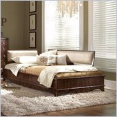 Lea Elite Rhapsody Platform Bed 3 Piece Bedroom Set in Cherry
