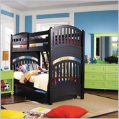 Lea My Style Twin Over Twin Wood Bunk Bed