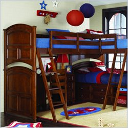 Lea Deer Run Triple Bunk Bed 3 Piece Bedroom Set