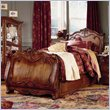 ADD TO YOUR SET: Lea Jessica McClintock Heirloom Kids Sleigh Bed in Dark Cherry