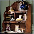 ADD TO YOUR SET: Lea Jessica McClintock Heirloom Large 2 Shelf Student Desk Hutch with Dark Cherry Wood Finish