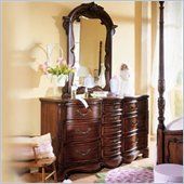 Lea Jessica McClintock Heirloom Triple Dresser and Mirror Set