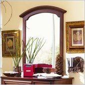 Lea Deer Run Vertical Mirror in Lightly Distressed Cherry Finish