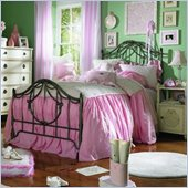 Lea Emma's Treasures Kids Metal Bed 2 Piece Bedroom Set