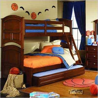 Lea Deer Run Twin Over Full Bunk Bed 2 Piece Bedroom Set
