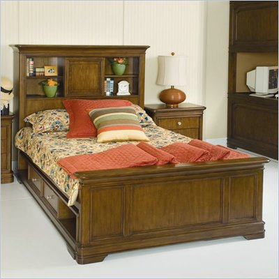 Lea Elite Classics Bookcase Bed in Cherry Finish