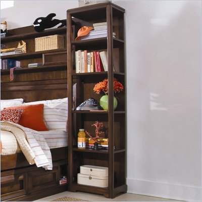 Lea Elite Expressions Kids Bookcase/Pier in Root Beer Cherry Finish