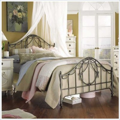 Lea Emma's Treasure Kids Metal Bed Complete 5 Piece Bedroom Set