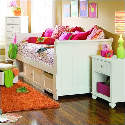 Lea My Style Wood Daybed with Storage Unit