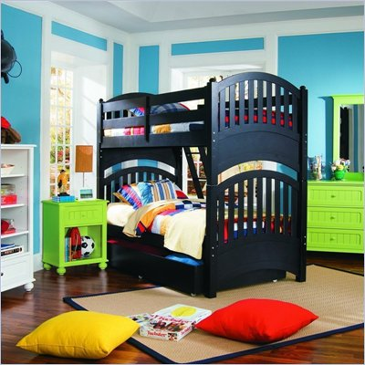 Lea My Style Twin Over Twin Bunk Bed 6 Piece Bedroom Set