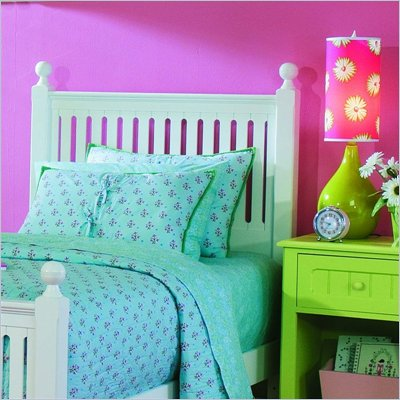 Lea My Style Slat Headboard with Heavy Duty Frame
