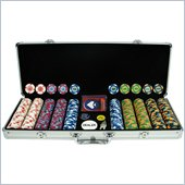 Trademark 500 PaulsonR Tophat & Cane Clay Poker Chips w/Aluminum Case