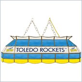 Trademark University of Toledo Stained Glass 40 In Tiffany Lamp