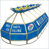 Trademark Miller Lite Stained Glass 40 Lighting Fixture