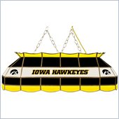 Trademark University of Iowa 40 Stained Glass Tiffany Light