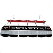 Trademark Corvette C6 Stained Glass 40 Lighting Fixture