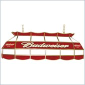 Trademark Budweiser 40 Stained Glass Pool Table Light