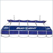 Trademark Bud Light 40 Stained Glass Pool Table Light