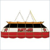 Trademark Maryland University Stained Glass 40 Tiffany Lamp