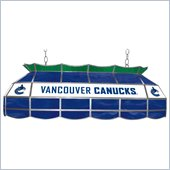 Trademark NHL Vancouver Canucks Stained Glass 40 Lighting Fixture