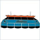 Trademark NHL San Jose Sharks Stained Glass 40 Lighting Fixture